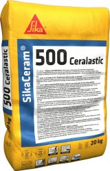 Sika Ceram-500 Ceralastic (20 kg C2ES2 osztályú flexibilis habarcs)