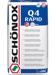 SCHÖNOX Q4 RAPID flexibilis ragasztó (15 kg) C2 TE S1