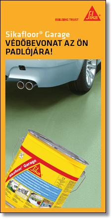 Sikafloor Garage - Védőbevonat az Ön padlójára