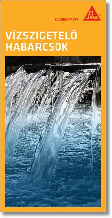 Vízszigetelő habarcsok